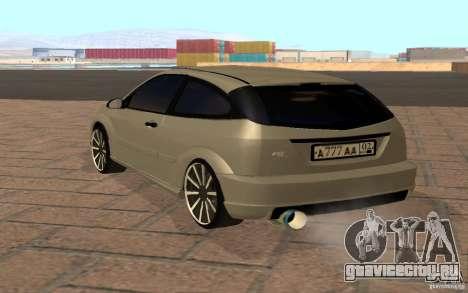 Ford Focus Light Tuning для GTA San Andreas вид справа