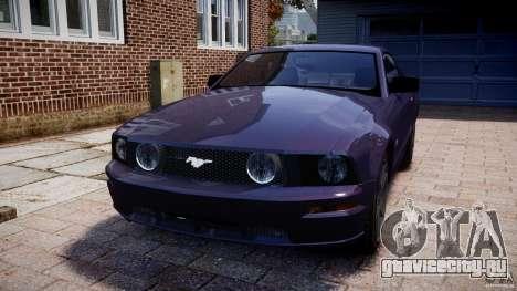 Ford Mustang для GTA 4