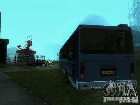 ЛиАЗ 5256-25 для GTA San Andreas вид сзади слева