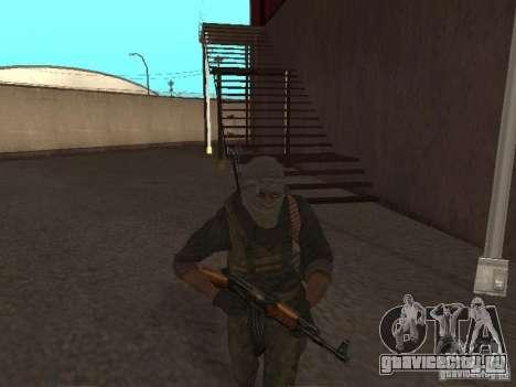 Душман 2 из COD4MW для GTA San Andreas четвёртый скриншот