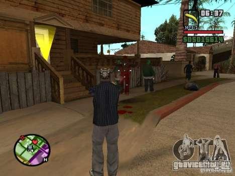 Bunana Gun для GTA San Andreas второй скриншот