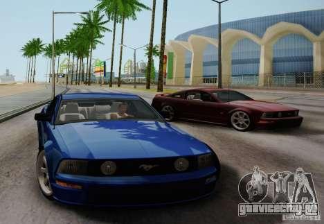 Ford Mustang Twin Turbo для GTA San Andreas вид справа