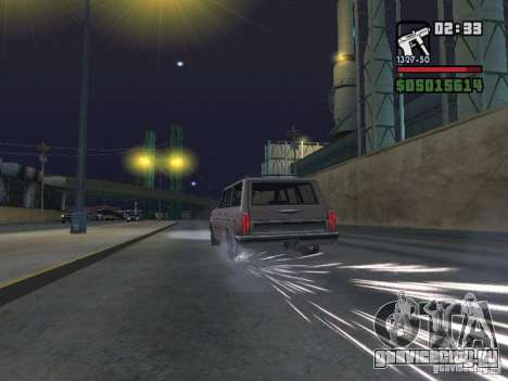 New Realistic Effects для GTA San Andreas восьмой скриншот