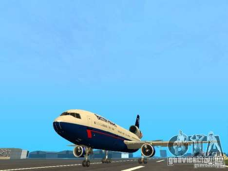 McDonell Douglas DC10 British Airways для GTA San Andreas