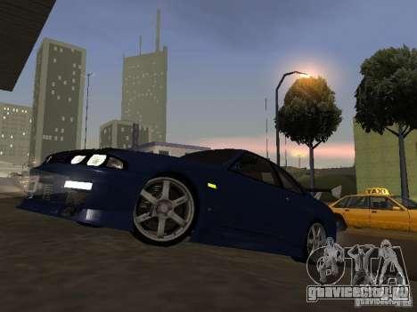 Nissan Skyline R33 SGM для GTA San Andreas вид слева