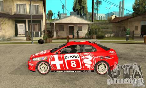 Alfa Romeo GT для GTA San Andreas вид слева