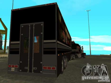 Custom Kenworth w900 - Custom - Trailer для GTA San Andreas вид сверху