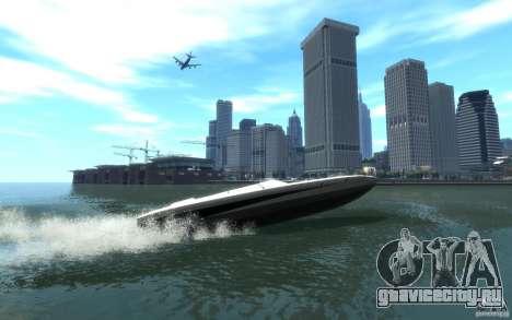 New Jetmax для GTA 4 вид сзади слева
