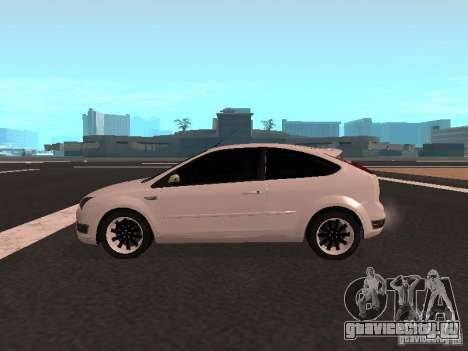 Ford Focus II для GTA San Andreas вид слева
