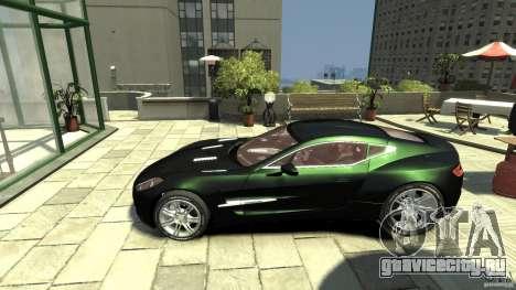 Aston Martin One-77 [EPM] для GTA 4 вид слева