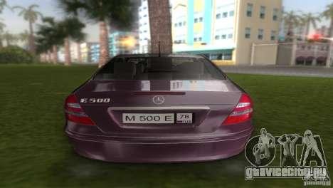 Mercedes E-class E500 для GTA Vice City вид справа