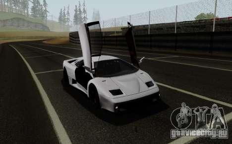 Lamborghini Diablo GTR TT Black Revel для GTA San Andreas