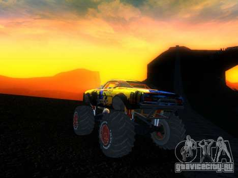 Fire Ball Paint Job 2 для GTA San Andreas вид слева