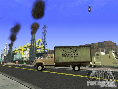 Yankee на базе GMC для GTA San Andreas вид сбоку
