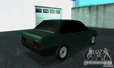 ВАЗ 21099 Coupe для GTA San Andreas вид справа