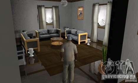 Новые интерьеры безопасных домов для GTA San Andreas восьмой скриншот