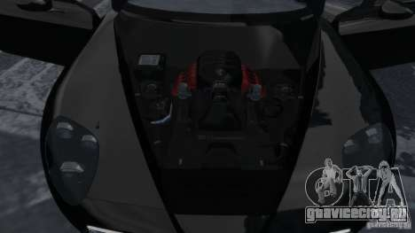 Alfa Romeo 8C Competizione Spider v1.0 для GTA 4 вид изнутри