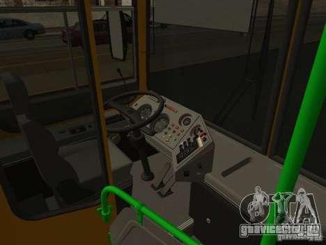 ЛиАЗ 5256.26-01 для GTA San Andreas вид изнутри