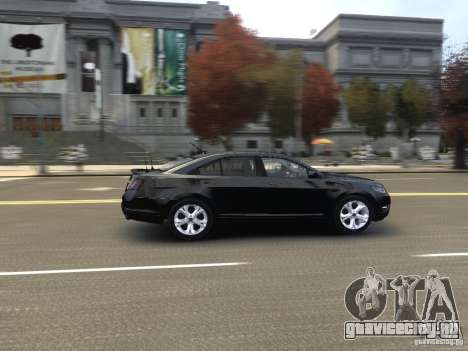 Ford Taurus FBI 2012 для GTA 4