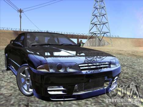 Nissan Skyline GT-R 32 1993 для GTA San Andreas вид сбоку