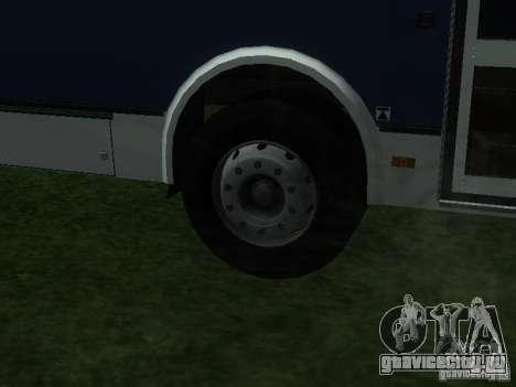 ЛиАЗ 5256-26 для GTA San Andreas вид сзади