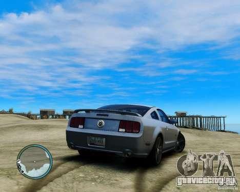 Ford Mustang GT 2005 v1.2 для GTA 4 вид слева