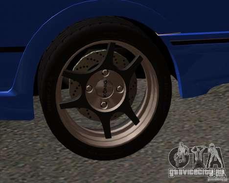 Z-s wheel pack для GTA San Andreas второй скриншот