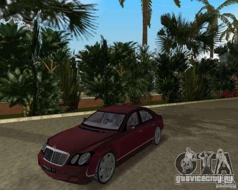 Maybach 57 для GTA Vice City вид слева