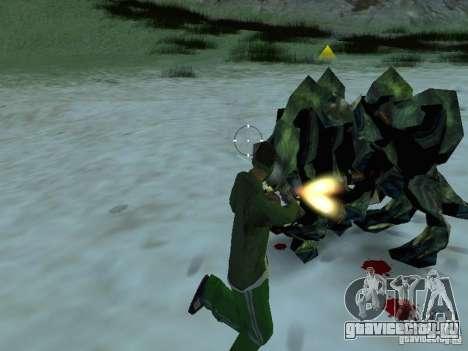 Подводные монстры для GTA San Andreas шестой скриншот