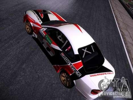 Nissan Silvia S15 DragTimes v2 для GTA San Andreas вид сзади
