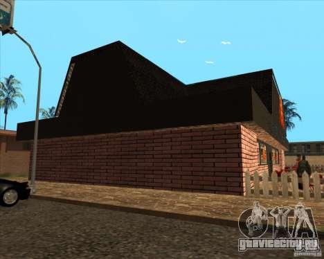 Новая пиццерия в IdelWood для GTA San Andreas третий скриншот