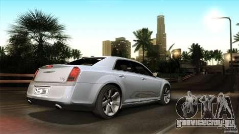 Chrysler 300C V8 Hemi Sedan 2011 для GTA San Andreas вид снизу