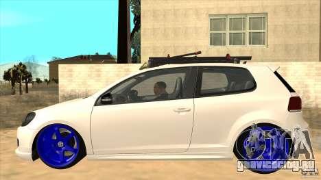 Volkswagen Golf MK6 Hybrid GTI JDM для GTA San Andreas вид слева