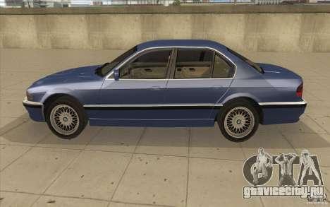 BMW 750iL 1995 для GTA San Andreas вид слева