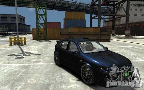 Seat Leon Cupra R для GTA 4 вид сзади