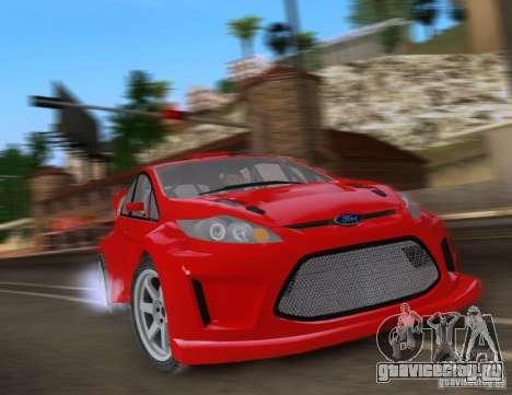 Ford Fiesta для GTA San Andreas вид слева