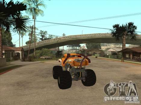 Monster Mutt для GTA San Andreas вид сзади слева
