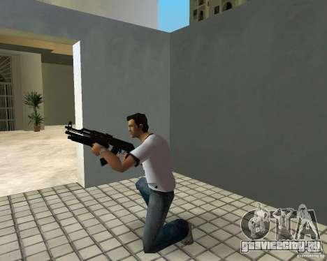 АК-47 с Подствольным Дробовиком для GTA Vice City шестой скриншот