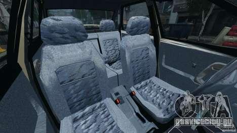 ВАЗ-21103 v1.0 для GTA 4 вид изнутри