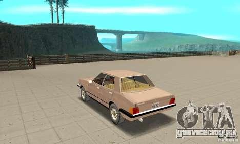 Ford Taunus 1978 для GTA San Andreas вид сзади слева