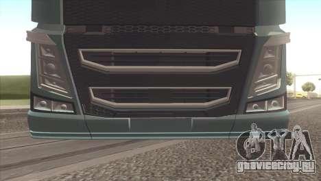 Volvo FH 2013 для GTA San Andreas вид справа