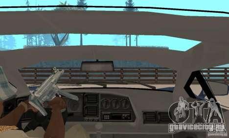 Jaguar XJ220 для GTA San Andreas вид сзади