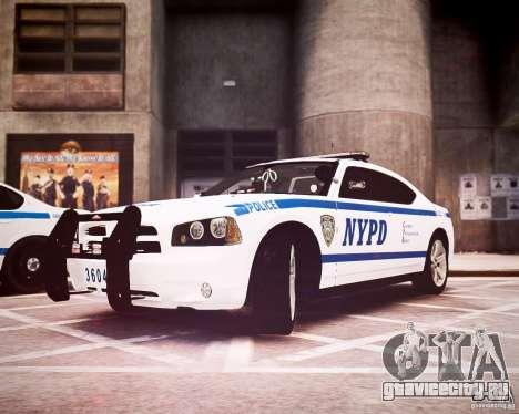 Dodge Charger 2010 NYPD ELS для GTA 4