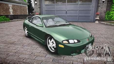 Mitsubishi Eclipse 1998 для GTA 4 вид изнутри