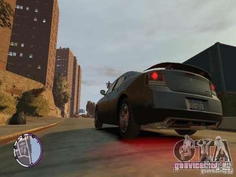 Dodge Charger SRT8 2007 FBI для GTA 4 вид слева