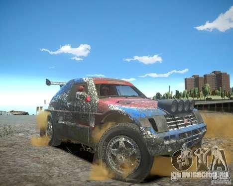 Mitsubishi Pajero Proto Dakar EK86 для GTA 4 салон
