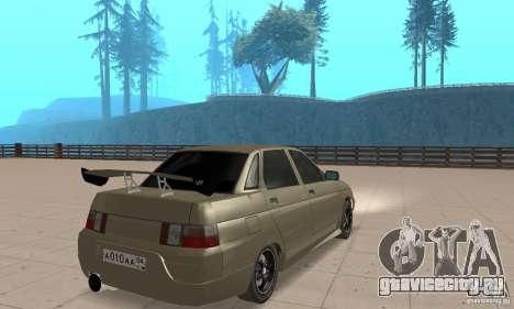 ВАЗ 21103 v.1.1 для GTA San Andreas вид слева