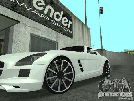 Luxury Wheels Pack для GTA San Andreas третий скриншот