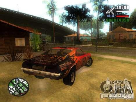 Blade из FlatOut для GTA San Andreas вид слева