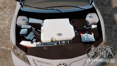 Toyota Camry Altise 2009 для GTA 4 вид изнутри